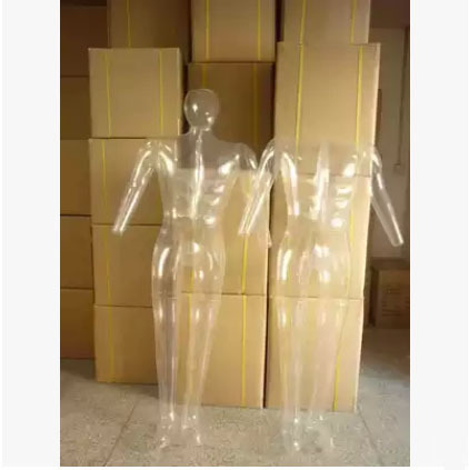 Free Shipping!!New Design Male Mannequin Inflatable Transparent Mannequin Made In China