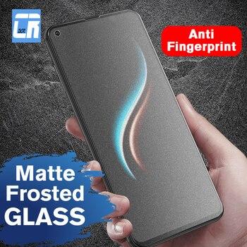 Перейти на Алиэкспресс и купить Полное матовое закаленное стекло без отпечатков пальцев для Huawei Nova 4 3 3i Mate 20X10 P20 Pro P10 Plus Honor 8X Max Защитная пленка для экрана