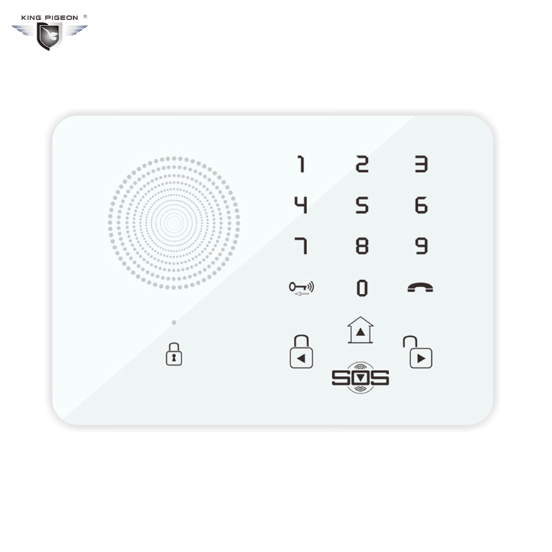 Touch Keypad Wireless Wired GSM Alarm System SOS Help Voice Home Security Burglar Auto Dialing Dialer SMS Call Remote Control K7 new wireless wired gsm voice home security burglar android ios alarm system auto dialing dialer sms call remote control setting