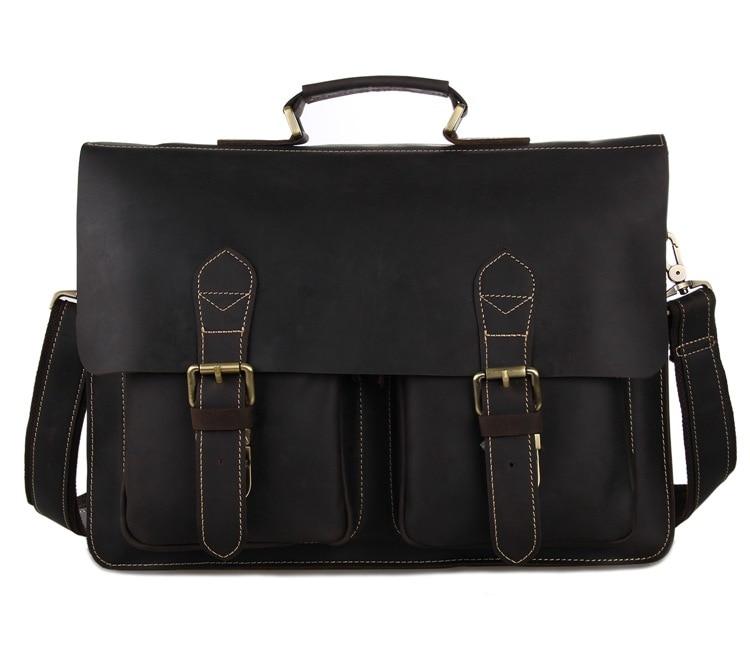 bd9c59f60204 Натуральная кожа мужские сумки Мужские бизнес компьютерные сумки ...