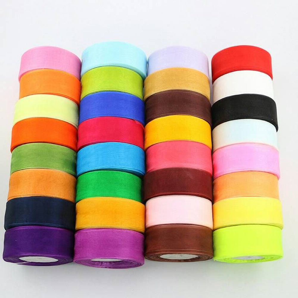 Aliexpress.com : Buy New 50 yards/pack tulle ribbon DIY ...