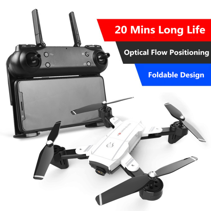 Professional Optical Flow Positioning Sefile WIFI Real Time RC Helicopter 20 Mins 1080P Dual Camera One Key Return FPV RC Done