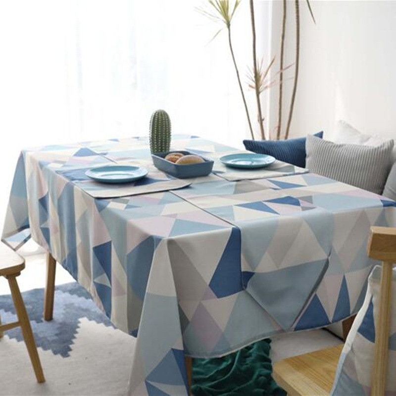 Modern Table Cloths For Home Square Coffee Party Small