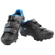 Mountain bike riding shoes double density insoles men section of the Automatic bucklelock bicycle shoes F-55