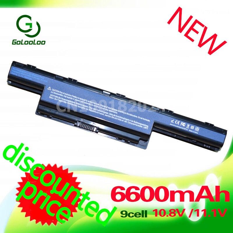 Golooloo 11.1V ბატარეა Acer AS10D31 as10d41 AS10D51 - ლეპტოპის აქსესუარები - ფოტო 2