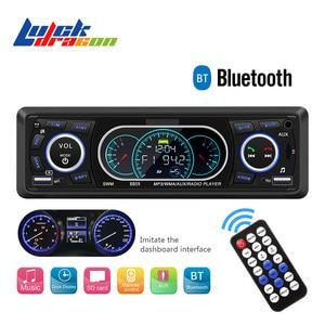 Radio Remote Control MP3 Player 1 Din Car Radio Bluetooth Car Audio AUX/TF/USB FM Auto Radio Phone Charging Music Car stereo(China)