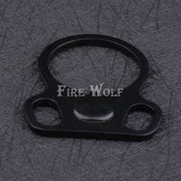 FIRE WOLF Hunting AR End Plate Oval Dual Loop Sling Adapter Right Left Handed Mount Hunting