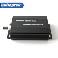 HD 1080P IP Network Coaxial Cable Video Transmission Extender Converter For CCTV System