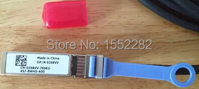 For Force 10 5m 10GE SFP+ Copper Network Cable 0358vv  Original Brand New Well Tested Working One Year Warranty  10g sfp optical fiber straight wire 5m connect 10g network card original brand new well tested working one year warranty