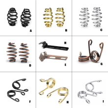 цены Motorcycle Solo Seat Mount Kit Seat Springs Clip Bracket Mounting For Harley Davidson Bobber Chopper Custom Glod Chrome Bronze