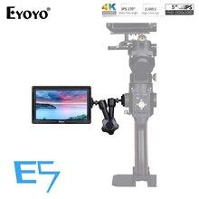 """Eyoyo E5 5 """"Pollici 1920x1080 Mini Monitor di HDMI 4K IPS On Videocamera monitor DSLR per Canon Nikon Sony DSLR Della Macchina Fotografica Video"""