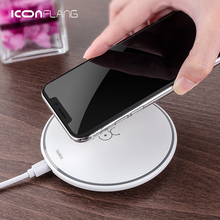 Wireless Charger For Google Pixel 3 /3 XL Qi Fast Charging Pad For LG V30 Blackberry Evolve X Huawei Mate 20 Pro ZTE Axon 9 pro