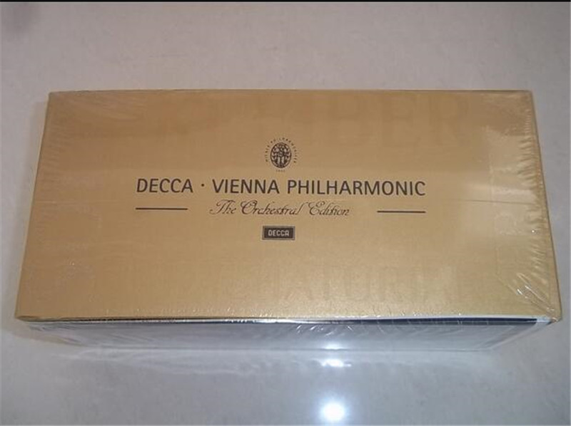 Smok Alien Limited Hot Sale Free Shipping: Decca Viennese Philharmonic Orchestra In Diva Classic Recording Set 65cd Wiener Seal free shipping in the minds of evil deicide cd seal