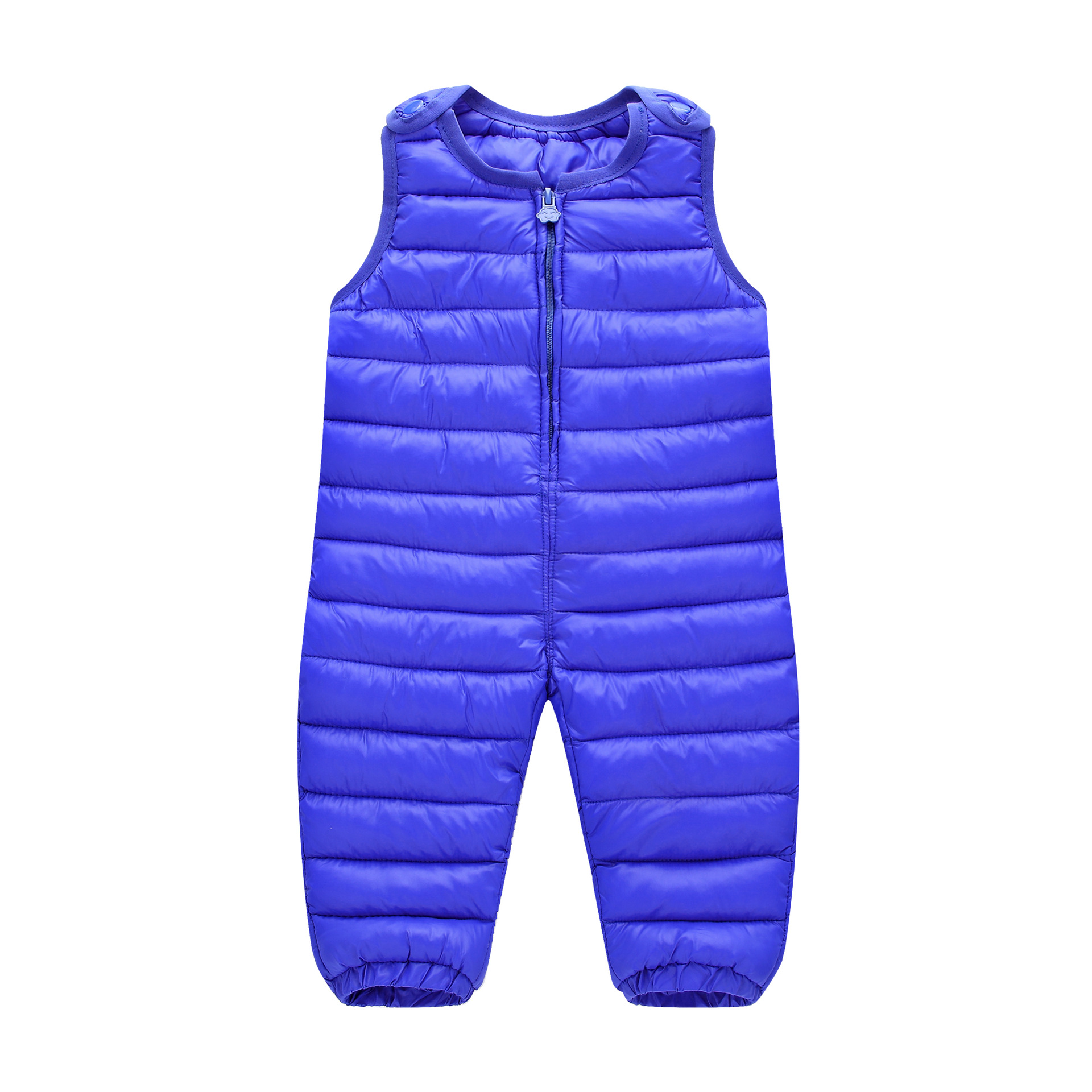 New Arrival 2017 Children Duck Down Winter Pants Boys Warm Pants For Girls Down Strap Trousers