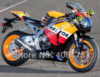 Hot Sales,Hi quality Repsol fairing kit for 2008 2009 2010 2011 CBR1000RR CBR1000 08 09 10 11 CBR 1000RR (Injection molding)