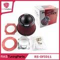 Envío Gratis Filtro de Aire De Admisión Apexi Universal Vehículo 75mm Dual Adaptador Embudo Filtro de Aire Proteger Su Pistón RS-OFI011