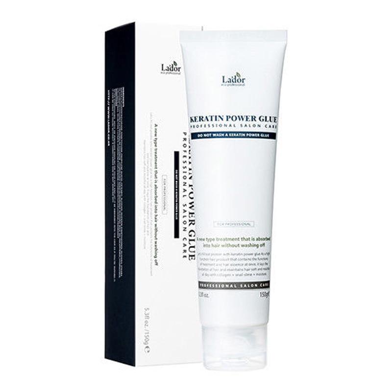 LADOR Keratin Power Glue 150g Collagen Keratin Scalp Treatment Hair Growth Serum Repair Hair Root Loss Hair Care