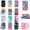 For Lenovo A319 Premium Wallet PU Leather Folio Wallet Flip Case Cover Built-in Card Slots for Lenovo A536 With Hand Strap