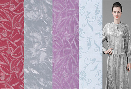 europe jacquard satin silk fabrics tissue silk fabrics for dress silk chiffon patchwork stoff. Black Bedroom Furniture Sets. Home Design Ideas