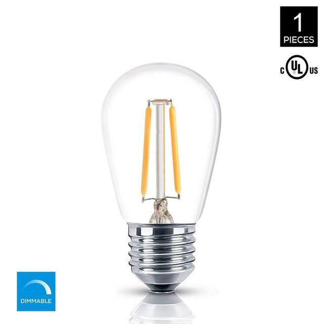 Led Light Bulbs Party 15 Watt Replacement S14 2w Bulb E26 Mrdeng Gl Socket Soft White 2700k 1 Pack
