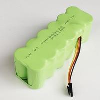 14,4 V ni-mh SC перезаряжаемая батарея 3500mAh для ecovas Mirror CR120 Dibea X500 X580 KK8 Kitfort Panda Haier пылесос