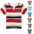 High Quality Baby Boy T-shirt Children Short Sleeve Top Shirt Brand Summer T-shirt Kid Boy Striped Cotton T-shirt Clothes