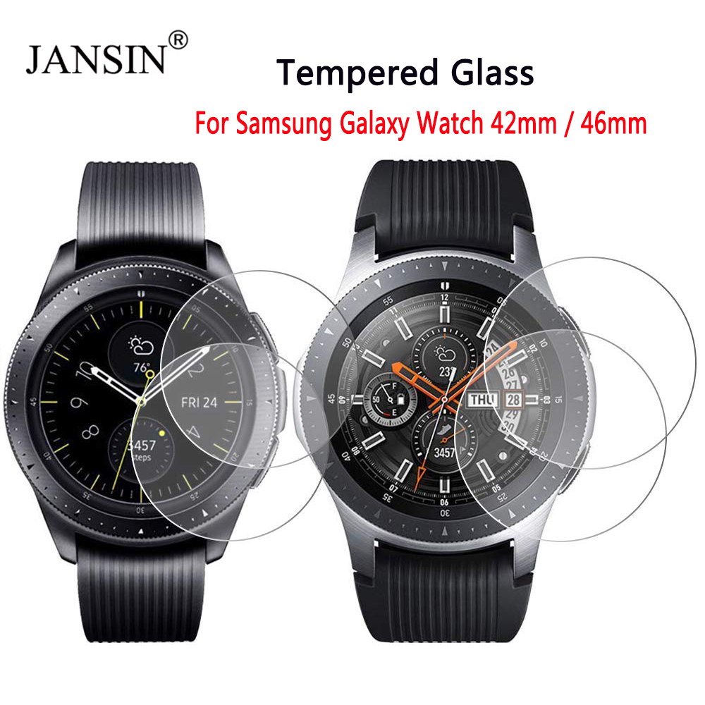 Screen Protector Film For Samsung Galaxy Watch 42mm 46mm Tempered Glass Protective Film For Samsung Gear S3 Classic/S3 Frontier