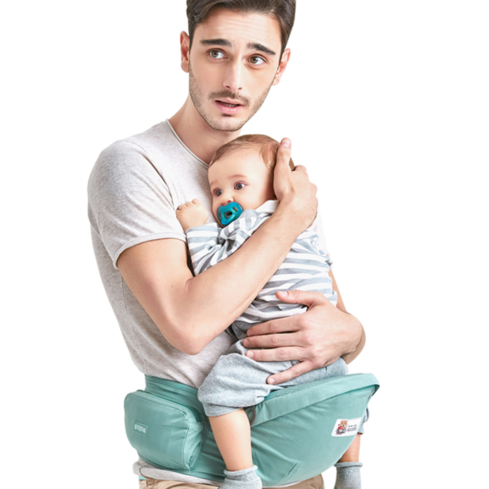 Bethbear Baby Carriers Infant Hip Seat Toddler Waist Stool Carrier Multifunctional Front Facing Comfortable Pouch Wrap Kangaroo