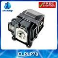 180 DIAS de GARANTIA da lâmpada do projetor Compatível ELPLP78/V13H010L78 para EH-TW5200/EB-X03/EB-W03/EB-S03/EB-98/EH-TW570 com habitação