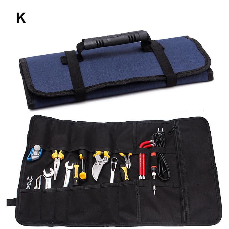 Acheter Double couche 600D Oxford tissu sac multifonctionnel outil mandrin boîte à outils noir rouge bleu styles de tool bag fiable fournisseurs