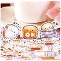 40 шт., креативные милые самодельные наклейки для скрапбукинга, еды, декоративные наклейки, самодельные фотоальбомы, каваи
