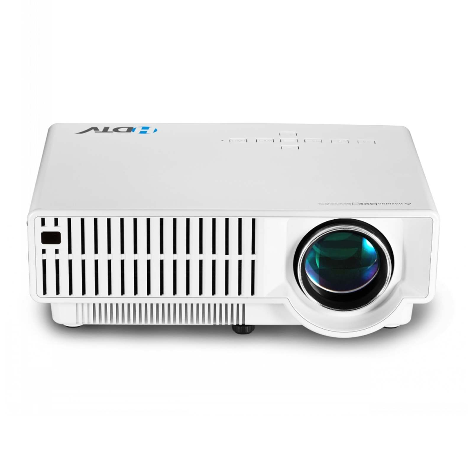 High Definition LCD 3200lumens Home Theater HD Digital HDMI Video LED 1080P TV Video 3D Projector Free shipping mini home high definition led projector w hdmi port white