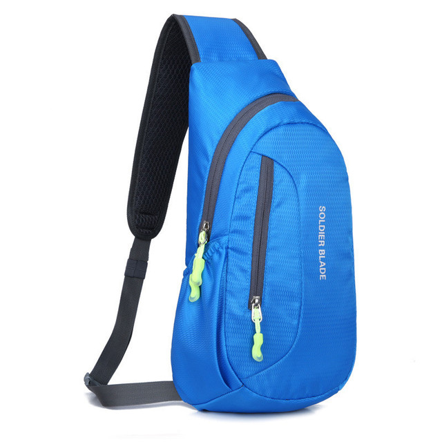 3315a14fb599 Aliexpress.com : Buy Shoulder bag leisure outdoor sports bag Running  shoulder oblique cross package Men and women waterproof backpack Riding  package ...
