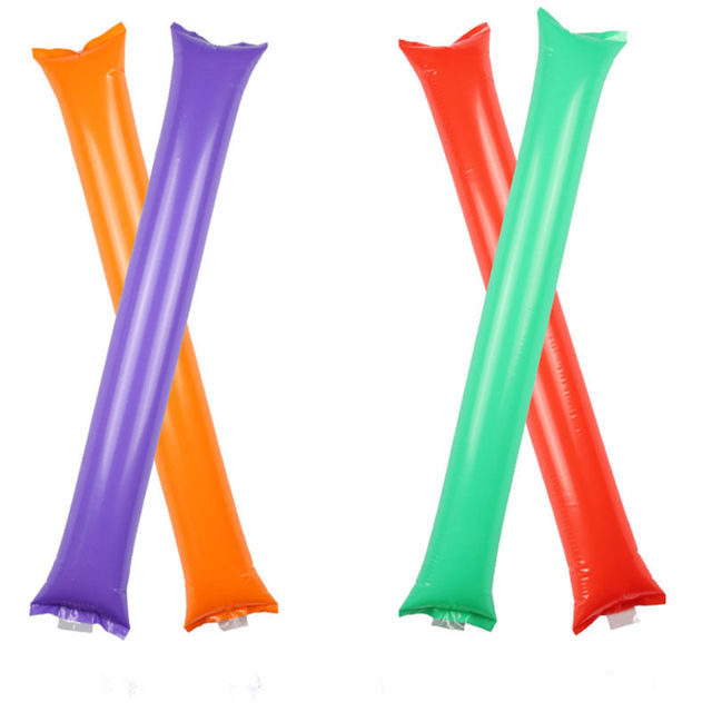 5 pair Cheering Stick Inflatable Sticks Cheer Up Thunder Bang Noise Maker Match KTV Bar Event & Party Suppliers