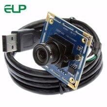 ELP 1 мегаписксельная камера 720 P USB Камера MJPEG 30fps CMOS OV9712 USB 2,0 безопасности мини-камера наблюдения с USB веб-камера