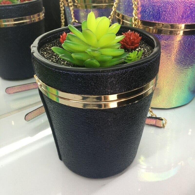 Laser 2017 Mini Forme De Vase Sac Chaîne Mode Messenger La Small Intéressant Tendance Portefeuille Personnalité Main À Lady SqwrYHS