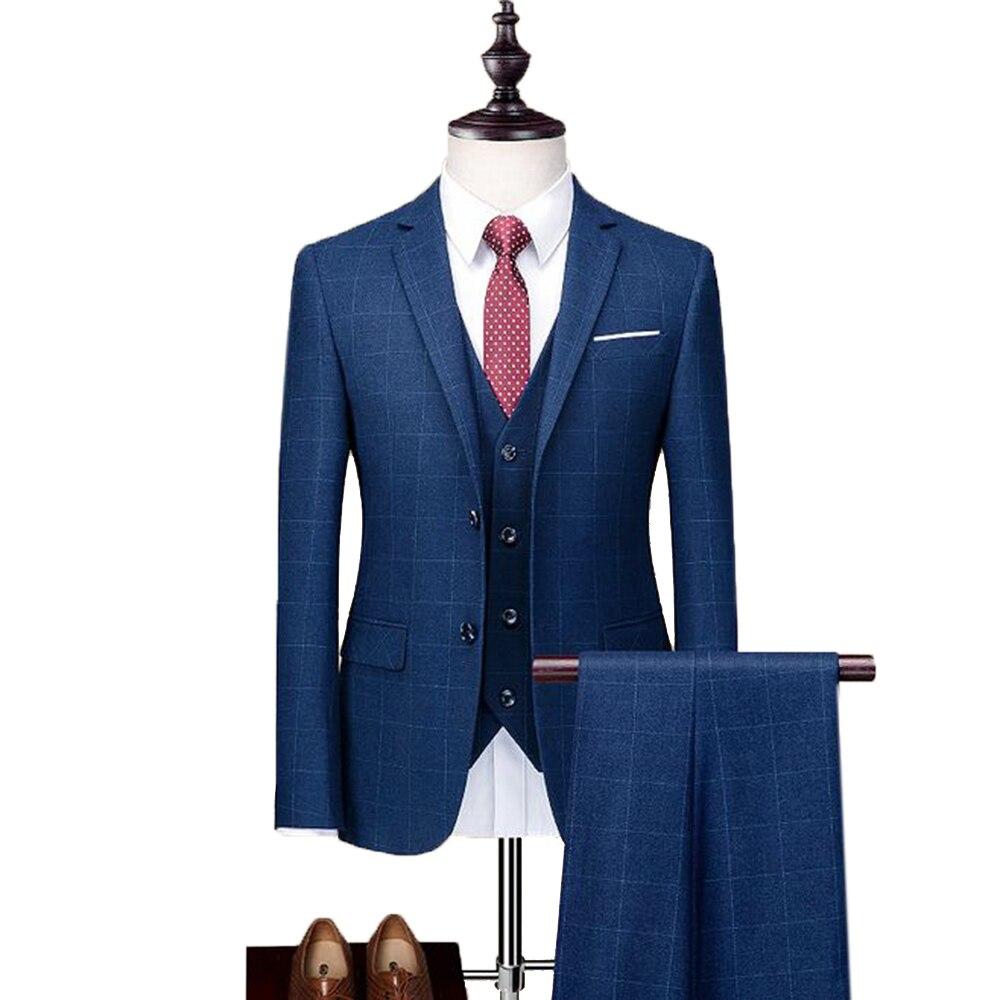 Sumen Men Luxury Design Suit Jacket Fashion Long Sleeve
