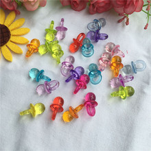 Acrylic Decoration Party-Supplies Shower-Favors Gifts Baby Boy Birthday Mini 60pcs/Lot