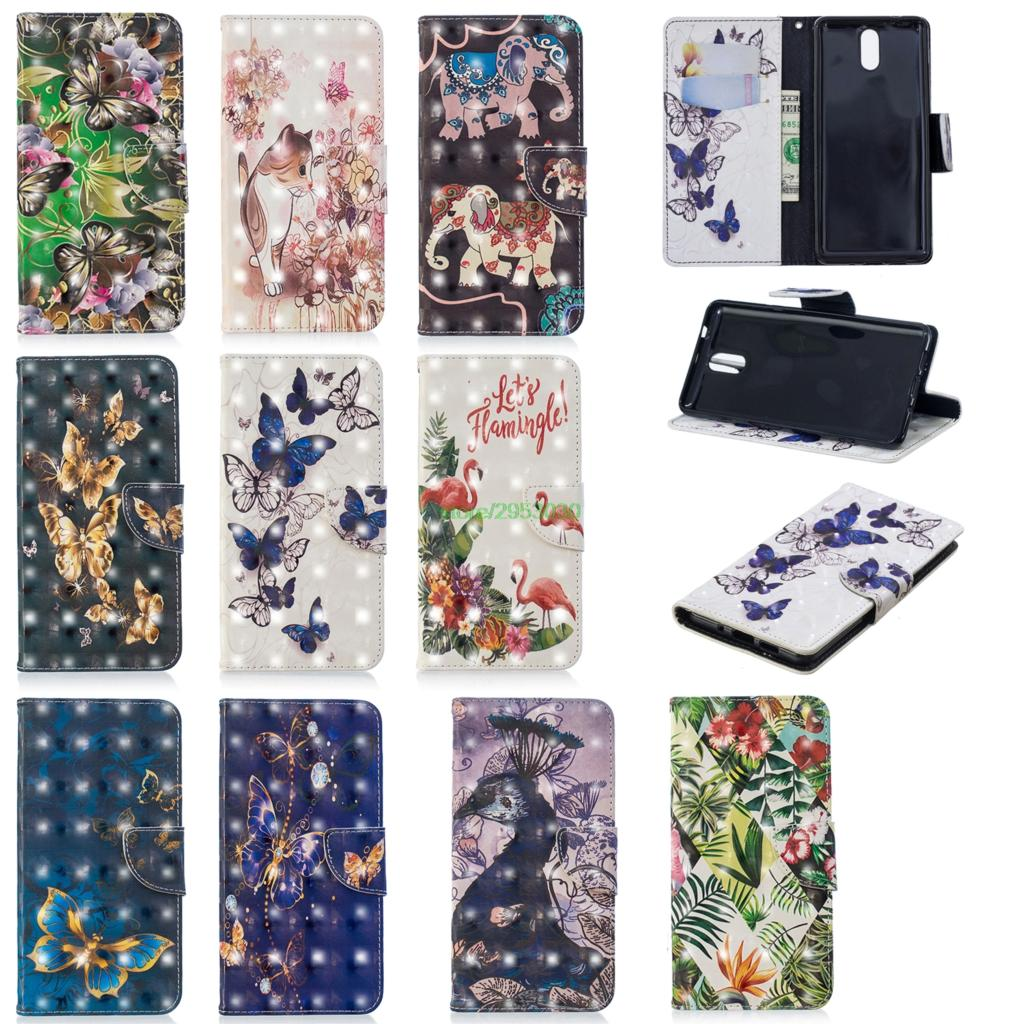 Flip Case for <font><b>Nokia</b></font> 3.1 31 TA-1063 TA 1063 1070 Wallet Phone PU Leather Cover for Nokia3.1 <font><b>TA1063</b></font> TA-1070 TA-1074 Silicone Cover image