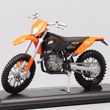 Maisto 1:18 Mini scale KTM 450 EXC Motorcycle dirt race vehicles Dieca