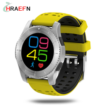 GS8 smart watch heart rate blood pressure monitor GPS smartwatch support SIM Card montre connecter Android samsung huawei IOS