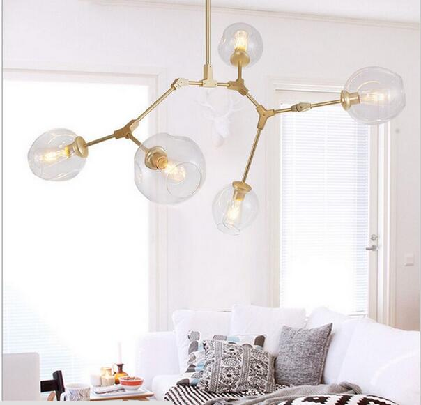 Lindsey Adelman Globe Ramification Bulle Lustre 110 v 220 v Moderne Lustre Lumière Éclairage - 6
