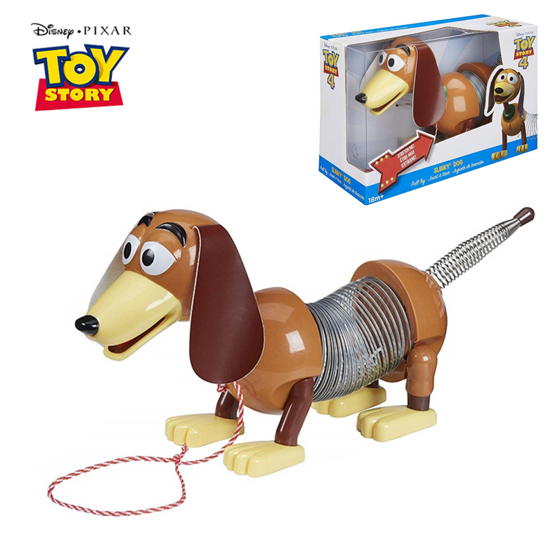 Disney Pixar Toy Story 4 Slinky Dog Sheepherder Action Figures Metal Model Doll Limited Collection Toys Children Gifts