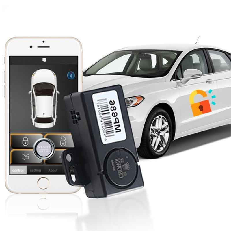 Automatic Trunk Opening With Mobile Phone APP Keyless Entry Car Security System For Android Phone Car Engine Remote Smart Key