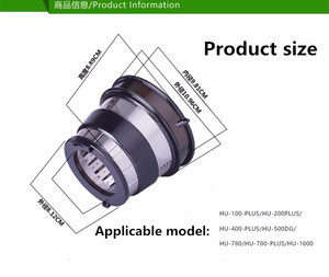 Image 3 - slow juicer hurom blender spare parts,Filter net of juice extractor Small hole Black ,HU 500DG,HU 100PLUS  replacement parts