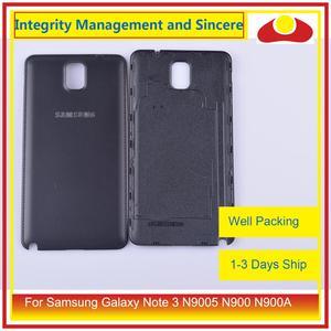 Image 5 - الأصلي لسامسونج غالاكسي نوت 3 N9005 N900 N900A N900T N900V N900S بطارية مبيت الباب الخلفي الغطاء الخلفي حافظة الهيكل