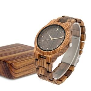 Image 2 - 나무 시계 남성 신사 시계 clok 남자 relogio masculino 럭셔리 남자 브랜드 남자 기념품 relogio 시계