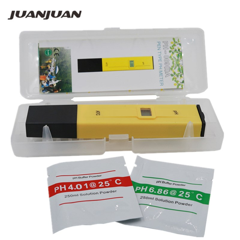Fickpenna Vattentest Digital PH Meter Tester PH-009 IA 0.0-14.0pH för Aquarium Pool Water Laboratory 33% rabatt
