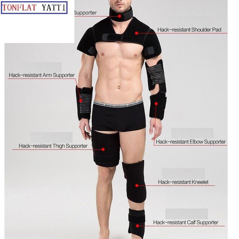 Anti-stab Protective Gear/protective Neck/shoulder/elbow Pads/Thigh/Knee/Calf Self-defense Anti Cut Anti-hack Full Se Anti Tool