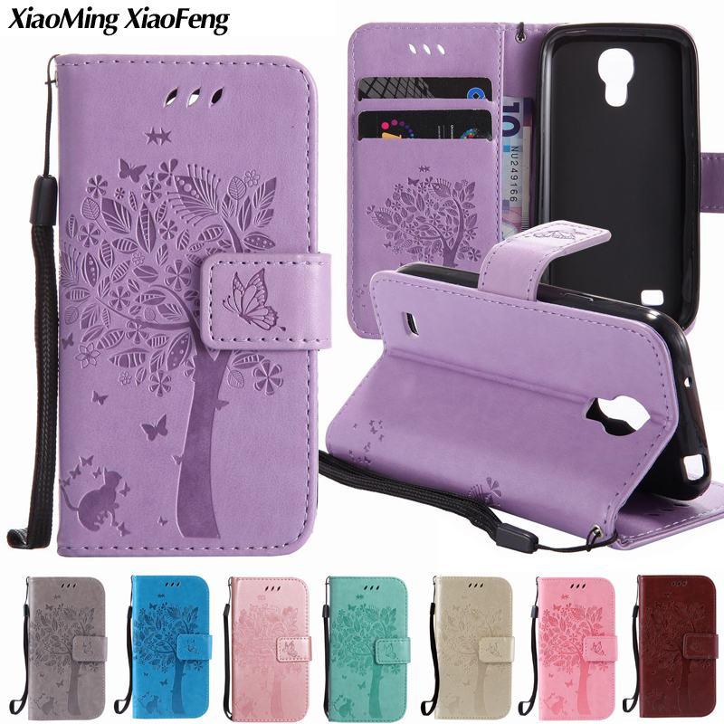 Étui portefeuille à rabat pour Samsung Galaxy S4 Mini, Coque de protection pour Samsung Galaxy S4 Mini i9190, S5 Mini